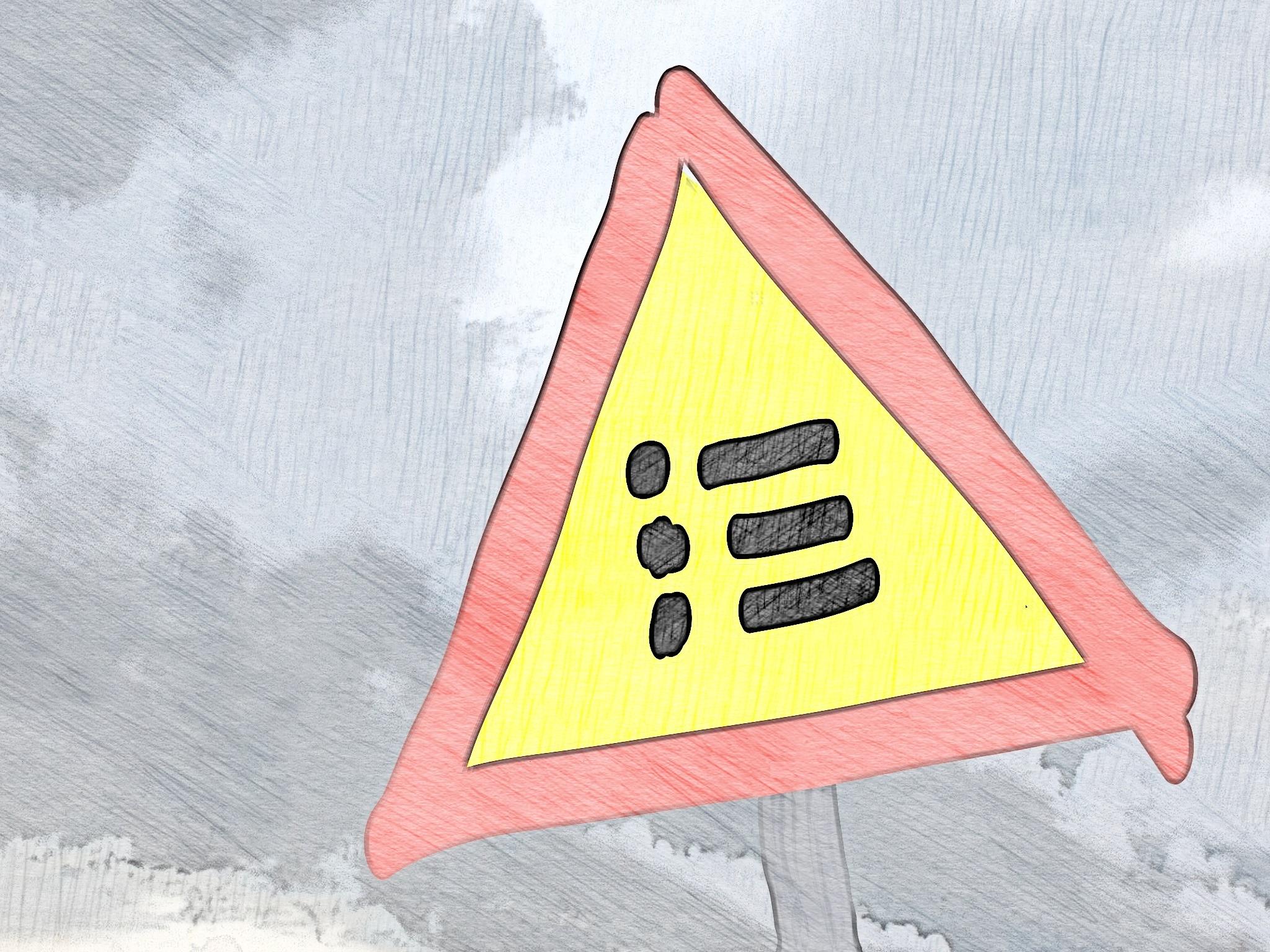 Varning för punktlistor i PowerPoint