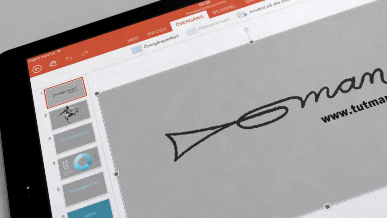 Nu får alla som gillar Microsoft PowerPoint ett nytt sätt att presentera: via iPad.